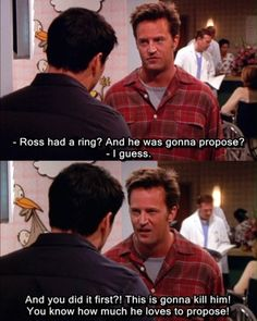 Haha! Friends.... :)