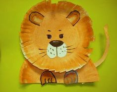Art class ideas: Kindergarten destinations, idea, animal art projects, paper plate crafts, papers, lions, kids, africa travel, paper plates