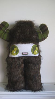 Candy Inspector - Furry plush monster