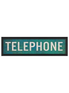 Telephone by Artwork Enclosed