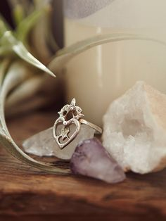 Free People Witches Heart Ring, $80.00