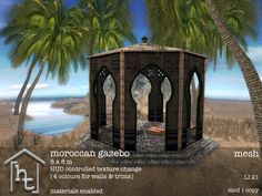 moroccan gazebo, outdoor stuff