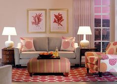 #Havertys CustomLook Plus Blossom collection is bursting with color, print and LOTS of style. #Expressionist Style