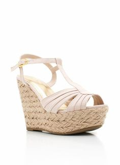 braided espadrille wedge= casual & chic!