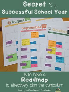 The secret to a successful school year is to have a road map to effectively plan your curriculum that will be used to teach the skills needed.  FREE templates are waiting for you!  Stop by and grab a set.