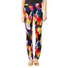 Slim-Fit Zip Pant in Color Splash - Kate Spade Saturday
