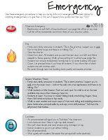 Sub plan tips/sheets.