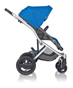 100% Playful. Affinity Stroller by Britax in Sky Blue. #baby #style