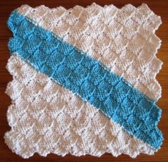 Free Crochet Pattern For Basket Weave Dishcloth : Knit dish cloth on Pinterest Knit Dishcloth Patterns ...
