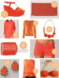 how to wear tangerine tango