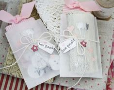 Glassine Treat Bags by Melissa Phillips for Papertrey Ink (December 2013)