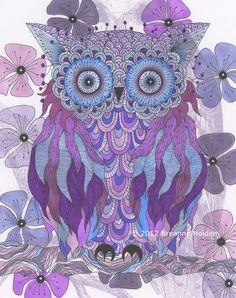 Purple Hoot