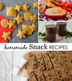 Homemade Snack Recipes from @weelicious - kid-friendly food that adults will love, too!