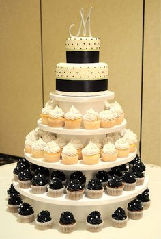 love the idea of cupcake trees for the reception