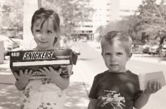 The S.I.P. Project: Buy a box of candy bars hand them out with a nice note to strangers at a hospital or where ever you like...EASY and it's a blast. Kids and teens will love it!