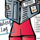 Freebie: This reading log was designed to have your students track their daily homework reading with: ~Date ~Title/Author ~# Pages Read ~# Minutes Read ~Loc...