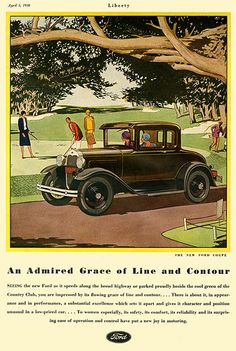 1930 - The New Ford Coupe