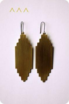 santa fe inspired templo earrings