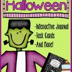 Are you looking for a new way to enrich your Halloween themed lessons? The interactive journal printables, task cards, and reading comprehension activities. $