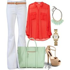 more coral and mint