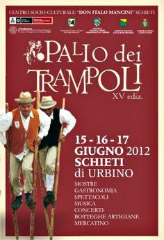 Palio dei Trampoli - Scheti di Urbino