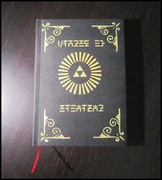 Legend of Zelda sketchbook / notebook  by ZeldettePlushies
