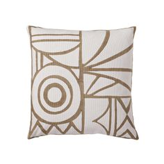 Ivory Salon Pillow Cover