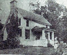 Laura Ingalls Wilder on Rocky Ridge Farm,  1949.