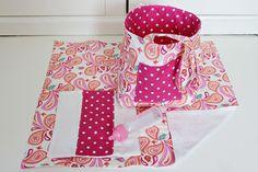 LIttle Girl Doll Diaper Bag by HappyAreWe123 on Etsy