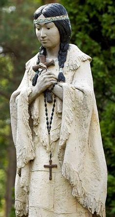 nativ american, native americans, kateri tekakwitha, cathol convert, catholic churches