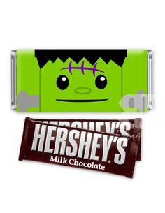 Halloween Printable Candy Bar Wraps by bisonbleu.com
