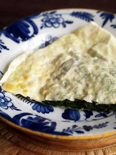 Pancakes with spinach, spring onions and soft cheese - Recipes - Food & Drink - The Independent