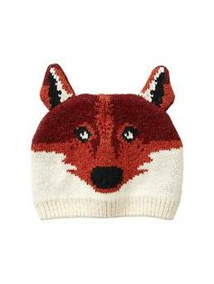 Fox hat from the Gap (available in size 0-24m)