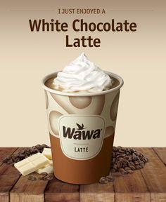 Wawa Hot & Iced Beverages: White Hot Chocolate