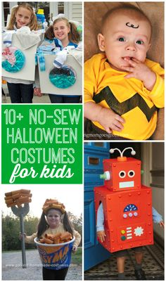 No-Sew Costumes for