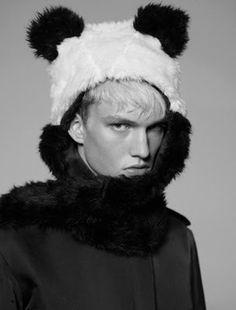panda as a male model ;-)