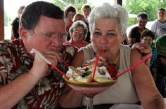 Enjoying entries in the Masters Competition at our annual Banana Split Festival, each year in June.  (The Banana Split was invented in Wilmington, Ohio in 1907 - Wilmington is in Clinton County, Ohio, part of the Southwest Ohio region.