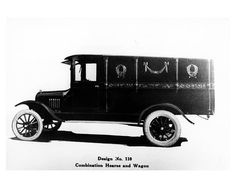 1920 Ford Model T Hearse