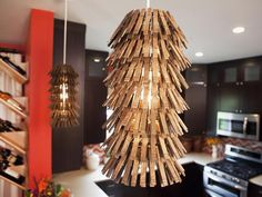 Meg's Clothespin Chandeliers. Yay or Nay? #pinwithmeg