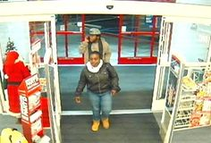 Shoplifting Suspects Attempt to Identify: On 11/27/2012, Officer Ryan Madden investigated a shoplifting that occurred at CVS, 3629 E. Landis where an unknown black male and female stole approximately $50.00-$100.00 in ethnic hair products   and press on nails. The suspects exited the store when confronted by a store clerk. The suspects got into a newer model Chevy product car red in color(possibly a CRUZE) and headed west on Landis Ave.