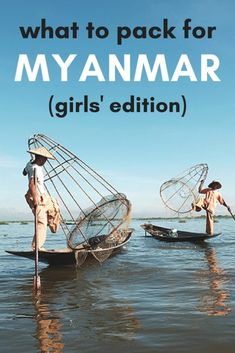An idea women's packing list for traveling to Myanmar in Southeast Asia! Whether you're headed to Yangon to explore the endless cultural heritage, temple-hopping around Mandalay or threading your way through Bagan on a scooter, my Myanmar packing list has you covered! #Myanmar #MyanmarTravel #Bagan #MyanmarPackingList #SoutheastAsia