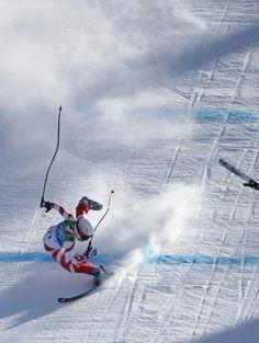 Winter Olympics 2010. He made it.