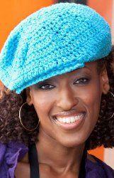 Newsboy Hat Crochet Pattern.  Great pattern for beginners.