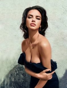 vogue, natural makeup, victoria secrets, model, fashion, adriana lima, hair makeup, beauti, adrianalima