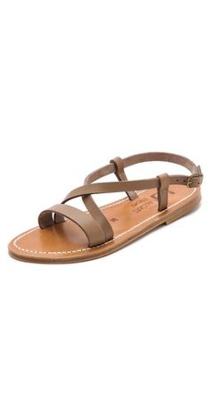 Simple K. Jacques sandals for summer. Made in France.