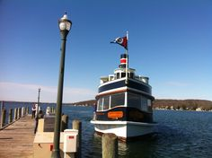 The Belle makes her way back to the Riviera Docks to begin the 2013 season of tours!