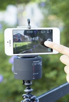 The Camalapse Mobile rotates 360 degrees in an hour, making it possible to create beautiful time lapse videos with ease.
