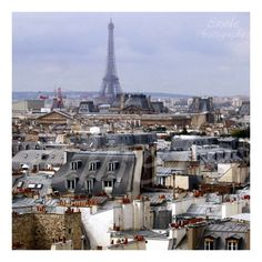 Paris Rooftops Print 5x5 by EmelePhotography on Etsy, $10.00