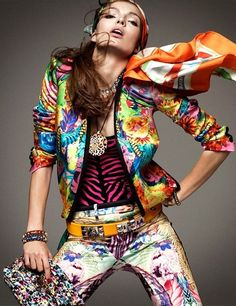 Carola Remer for Vogue Germany by Greg Kadel 2012  (I really love the jacket!)