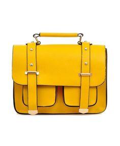 Yellow satchel